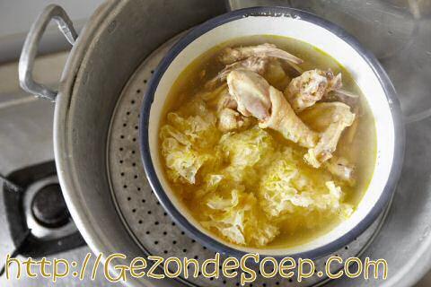 Echte Chinese kippensoep