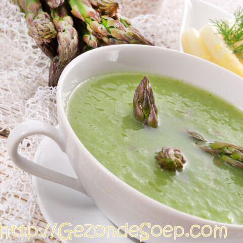 Groene aspergesoep