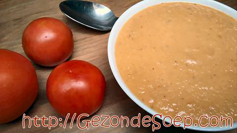 Tomaten groentesoep