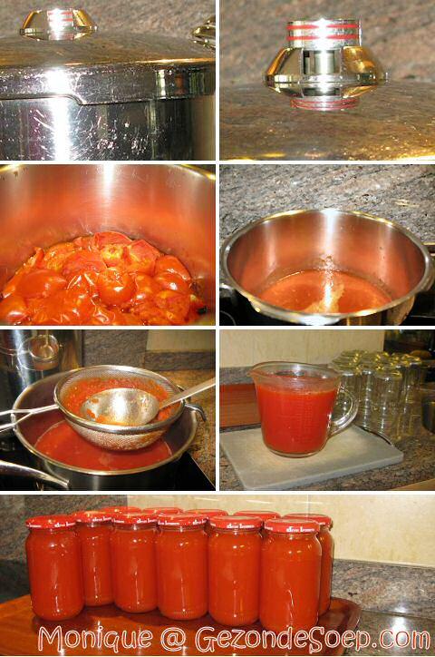 Tomatenpuree maken