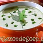 Courgettesoep maken