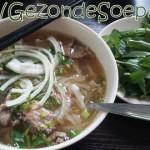 Vietnamese noedelsoep Pho Bo