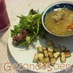 Varkensribben soep