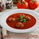 Tomaten paprika soep